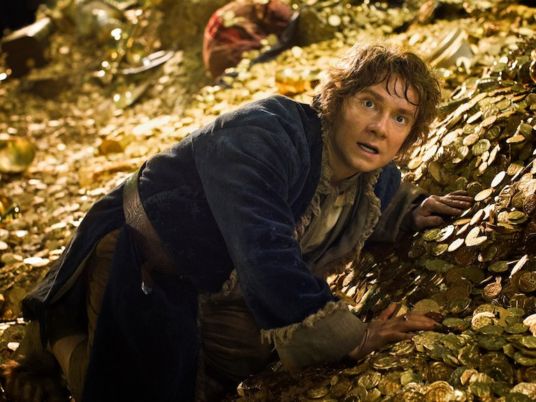 Bilbo-in-Lonely-Mountain-the-hobbit-the-desolation-of-smaug